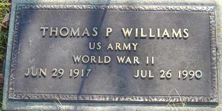WILLIAMS, THOMAS P - Franklin County, Ohio | THOMAS P WILLIAMS - Ohio Gravestone Photos