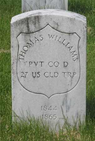 WILLIAMS, THOMAS - Franklin County, Ohio   THOMAS WILLIAMS - Ohio Gravestone Photos