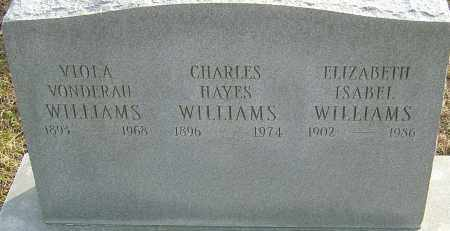 VONDERAU WILLIAMS, VIOLA - Franklin County, Ohio | VIOLA VONDERAU WILLIAMS - Ohio Gravestone Photos