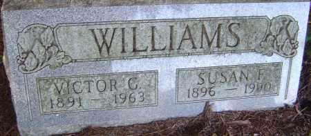WILLIAMS, VICTOR G - Franklin County, Ohio | VICTOR G WILLIAMS - Ohio Gravestone Photos