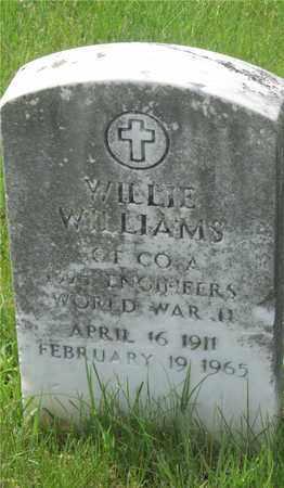 WILLIAMS, WILLIE - Franklin County, Ohio | WILLIE WILLIAMS - Ohio Gravestone Photos