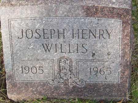 WILLIS, JOSEPH HENRY - Franklin County, Ohio   JOSEPH HENRY WILLIS - Ohio Gravestone Photos