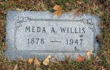 WILLIS, MEDA A. - Franklin County, Ohio | MEDA A. WILLIS - Ohio Gravestone Photos