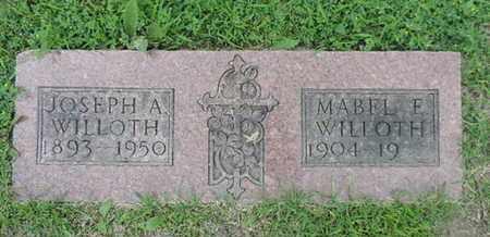 WILLOTH, MABEL E. - Franklin County, Ohio | MABEL E. WILLOTH - Ohio Gravestone Photos