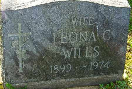 WILLS, LEONA C - Franklin County, Ohio | LEONA C WILLS - Ohio Gravestone Photos