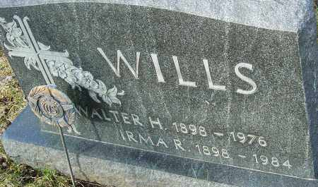 WILLS, IRMA R - Franklin County, Ohio | IRMA R WILLS - Ohio Gravestone Photos