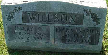WILLSON, FREDA - Franklin County, Ohio | FREDA WILLSON - Ohio Gravestone Photos