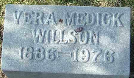MEDICK WILLSON, VERA - Franklin County, Ohio | VERA MEDICK WILLSON - Ohio Gravestone Photos