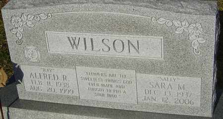 "WILSON, SARA MARIE ""SALLY"" - Franklin County, Ohio 