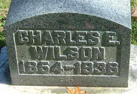 WILSON, CHARLES EDWARD - Franklin County, Ohio   CHARLES EDWARD WILSON - Ohio Gravestone Photos