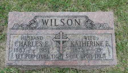 WILSON, CHARLES E - Franklin County, Ohio   CHARLES E WILSON - Ohio Gravestone Photos