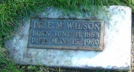 WILSON, EDGAR M - Franklin County, Ohio   EDGAR M WILSON - Ohio Gravestone Photos