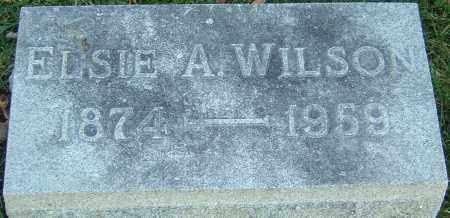 WILSON, ELSIE A - Franklin County, Ohio | ELSIE A WILSON - Ohio Gravestone Photos
