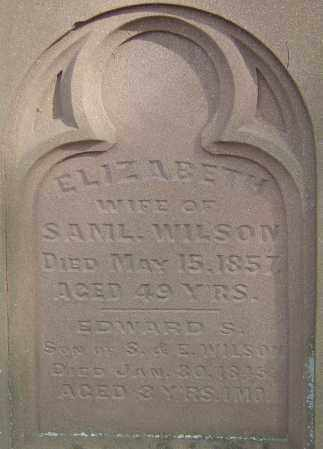WILSON, EDWARD S - Franklin County, Ohio | EDWARD S WILSON - Ohio Gravestone Photos
