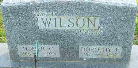 WILSON, HOMER - Franklin County, Ohio | HOMER WILSON - Ohio Gravestone Photos