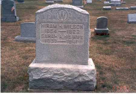 WILSON, SARAH A - Franklin County, Ohio | SARAH A WILSON - Ohio Gravestone Photos