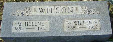 WILSON, M HELENE - Franklin County, Ohio | M HELENE WILSON - Ohio Gravestone Photos