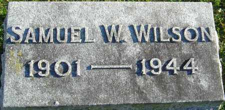 WILSON, SAMUEL WILMER - Franklin County, Ohio | SAMUEL WILMER WILSON - Ohio Gravestone Photos