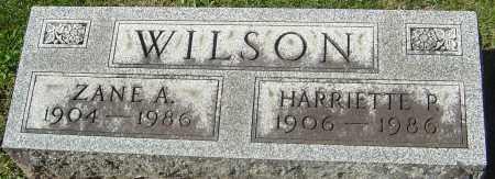 WILSON, HARRIETTE R - Franklin County, Ohio | HARRIETTE R WILSON - Ohio Gravestone Photos