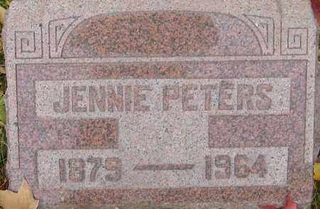 WINGATE, JENNIE PETERS - Franklin County, Ohio | JENNIE PETERS WINGATE - Ohio Gravestone Photos
