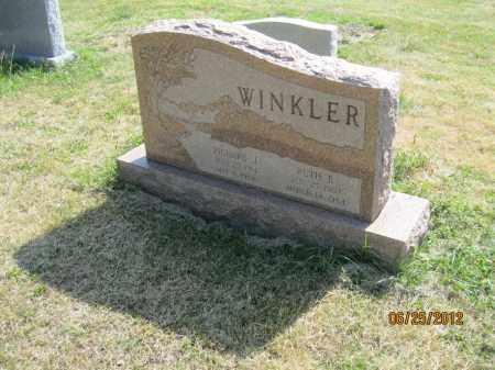 SCHAFFRAN WINKLER, RUTH E - Franklin County, Ohio | RUTH E SCHAFFRAN WINKLER - Ohio Gravestone Photos