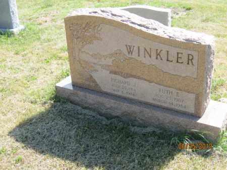 WINKLER, RUTH E - Franklin County, Ohio | RUTH E WINKLER - Ohio Gravestone Photos