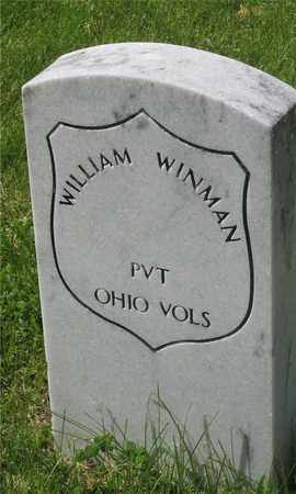 WINMAN, WILLIAM - Franklin County, Ohio   WILLIAM WINMAN - Ohio Gravestone Photos
