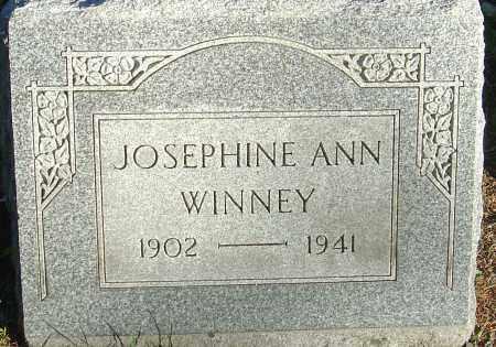WINNEY, JOSEPHINE ANN - Franklin County, Ohio | JOSEPHINE ANN WINNEY - Ohio Gravestone Photos