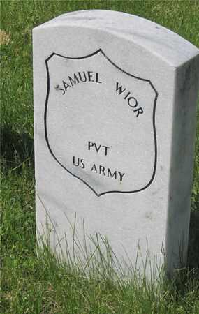 WIOR, SAMUEL - Franklin County, Ohio | SAMUEL WIOR - Ohio Gravestone Photos