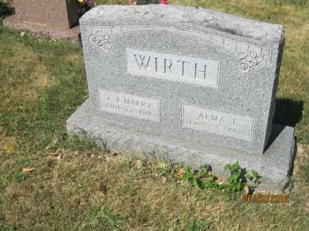 "WIRTH, ERWIN J ""HARRY"" - Franklin County, Ohio | ERWIN J ""HARRY"" WIRTH - Ohio Gravestone Photos"