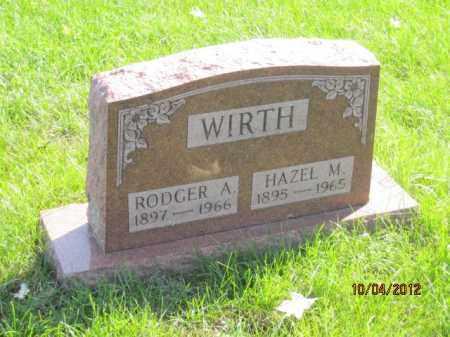 WIRTH, HAZEL MARY - Franklin County, Ohio | HAZEL MARY WIRTH - Ohio Gravestone Photos