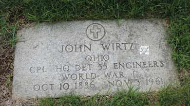 WIRTZ, JOHN - Franklin County, Ohio   JOHN WIRTZ - Ohio Gravestone Photos