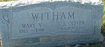 STANLEY WITHAM, MARY V - Franklin County, Ohio | MARY V STANLEY WITHAM - Ohio Gravestone Photos