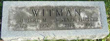 WITMAN, ROBERT M - Franklin County, Ohio | ROBERT M WITMAN - Ohio Gravestone Photos