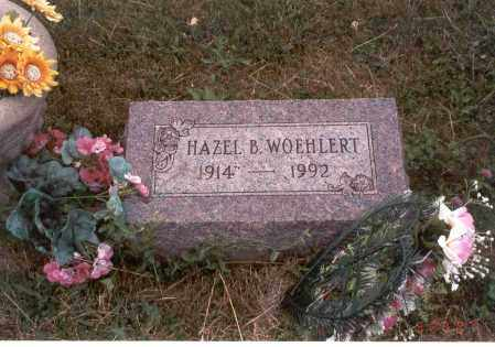 WOEHLERT, HAZEL B. - Franklin County, Ohio   HAZEL B. WOEHLERT - Ohio Gravestone Photos