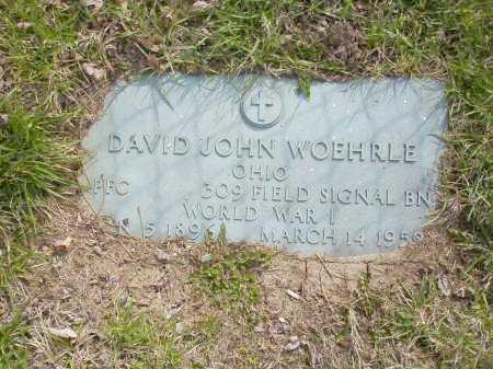 WOEHRLE, DAVID JOHN - Franklin County, Ohio   DAVID JOHN WOEHRLE - Ohio Gravestone Photos