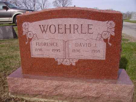 WOEHRLE, FLORENCE - Franklin County, Ohio | FLORENCE WOEHRLE - Ohio Gravestone Photos