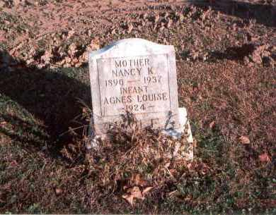 WOLF, AGNES LOUISE - Franklin County, Ohio | AGNES LOUISE WOLF - Ohio Gravestone Photos