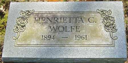 WOLFE, HENRIETTA C - Franklin County, Ohio | HENRIETTA C WOLFE - Ohio Gravestone Photos
