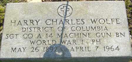 WOLFE, HARRY CHARLES - Franklin County, Ohio   HARRY CHARLES WOLFE - Ohio Gravestone Photos