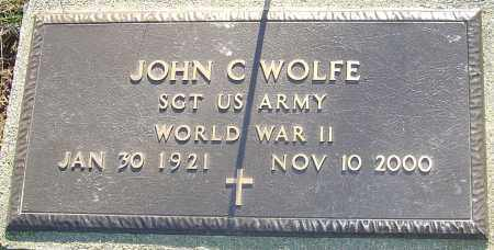 WOLFE, JOHN CHARLES - Franklin County, Ohio   JOHN CHARLES WOLFE - Ohio Gravestone Photos
