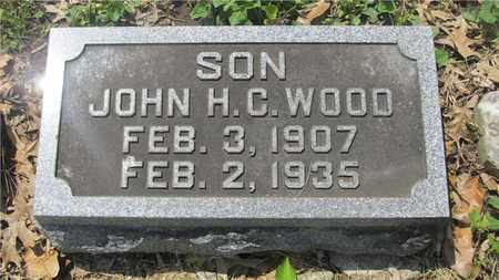 WOOD, JOHN H. C. - Franklin County, Ohio | JOHN H. C. WOOD - Ohio Gravestone Photos
