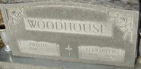 WOODHOUSE, BERNADETTE - Franklin County, Ohio | BERNADETTE WOODHOUSE - Ohio Gravestone Photos