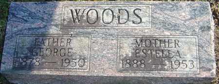 SIMMS WOODS, ESTELLA - Franklin County, Ohio | ESTELLA SIMMS WOODS - Ohio Gravestone Photos