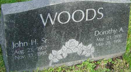 WOODS, JOHN - Franklin County, Ohio | JOHN WOODS - Ohio Gravestone Photos