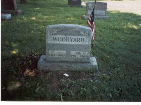 WOODYARD, JOHN M. - Franklin County, Ohio | JOHN M. WOODYARD - Ohio Gravestone Photos