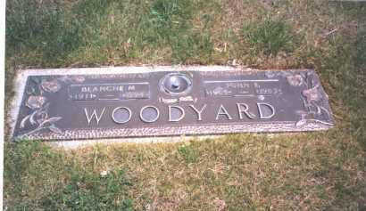 WOODYARD, JOHN E. - Franklin County, Ohio | JOHN E. WOODYARD - Ohio Gravestone Photos