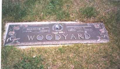WOODYARD, BLANCHE M. - Franklin County, Ohio | BLANCHE M. WOODYARD - Ohio Gravestone Photos