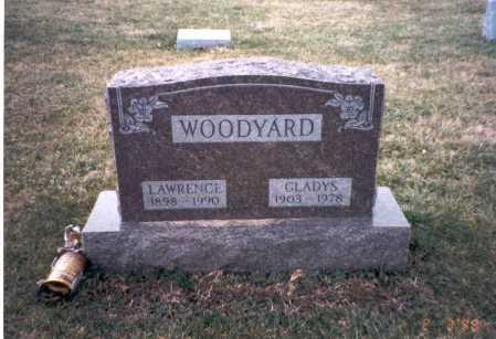 WOODYARD, LAWRENCE - Franklin County, Ohio | LAWRENCE WOODYARD - Ohio Gravestone Photos
