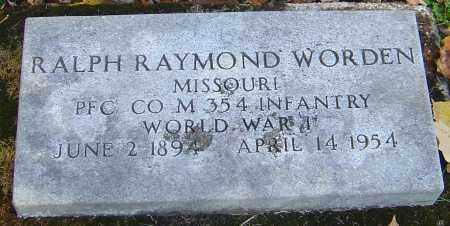 WORDEN, RALPH RAYMOND - Franklin County, Ohio | RALPH RAYMOND WORDEN - Ohio Gravestone Photos